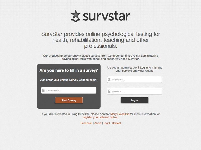 SurvStar screenshot